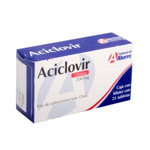 aciclovir pastillas 200 mg dosis
