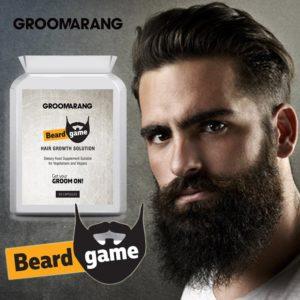 pastillas biotina para la barba