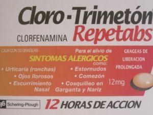 pastilla para la alergia nasal
