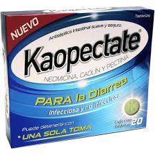 pastillas para la diarrea de carbon