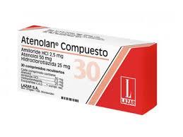 pastillas para la tensión efectos secundarios