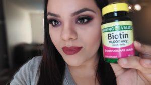 pastillas con biotina y colageno