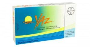 pastillas anticonceptivas yaz